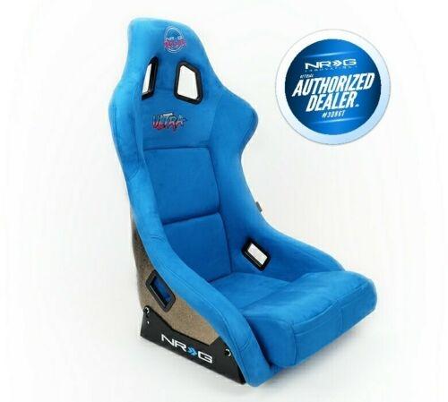 NRG BLUE ULTRA RACING SEAT (MEDIUM)